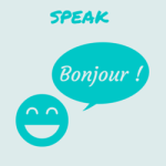 Speak : image for speaking activities in the language class