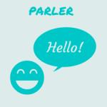 Parler : image l'expression orale en cours de langues