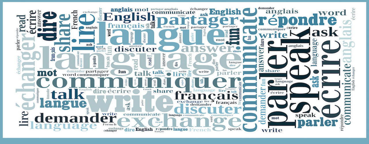word cloud for The Language Nook - Yolaine Bodin