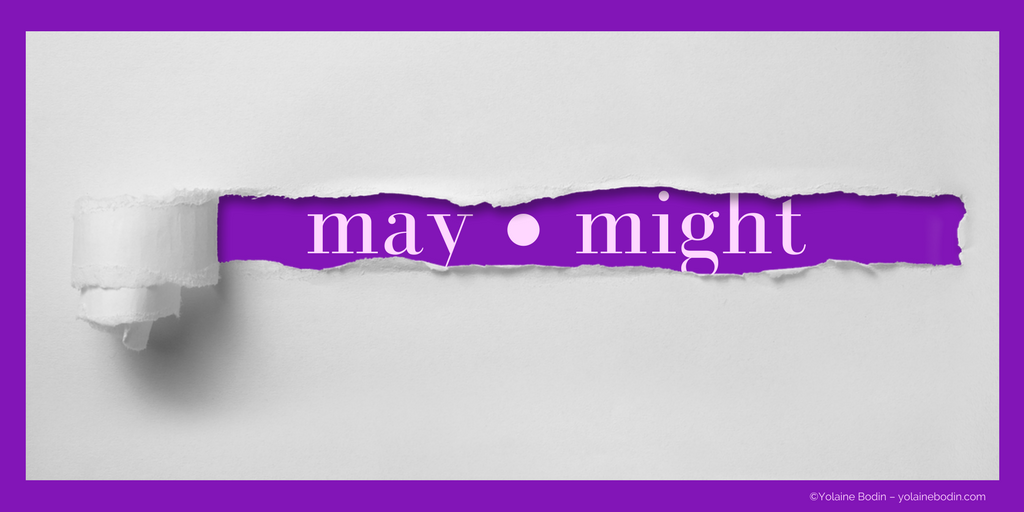 may and might - Image from The Language Nook