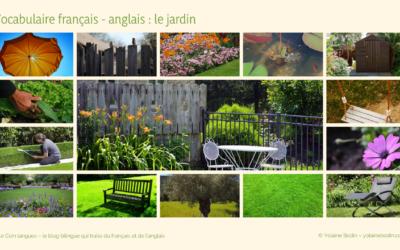 15 mots pour parler du jardin