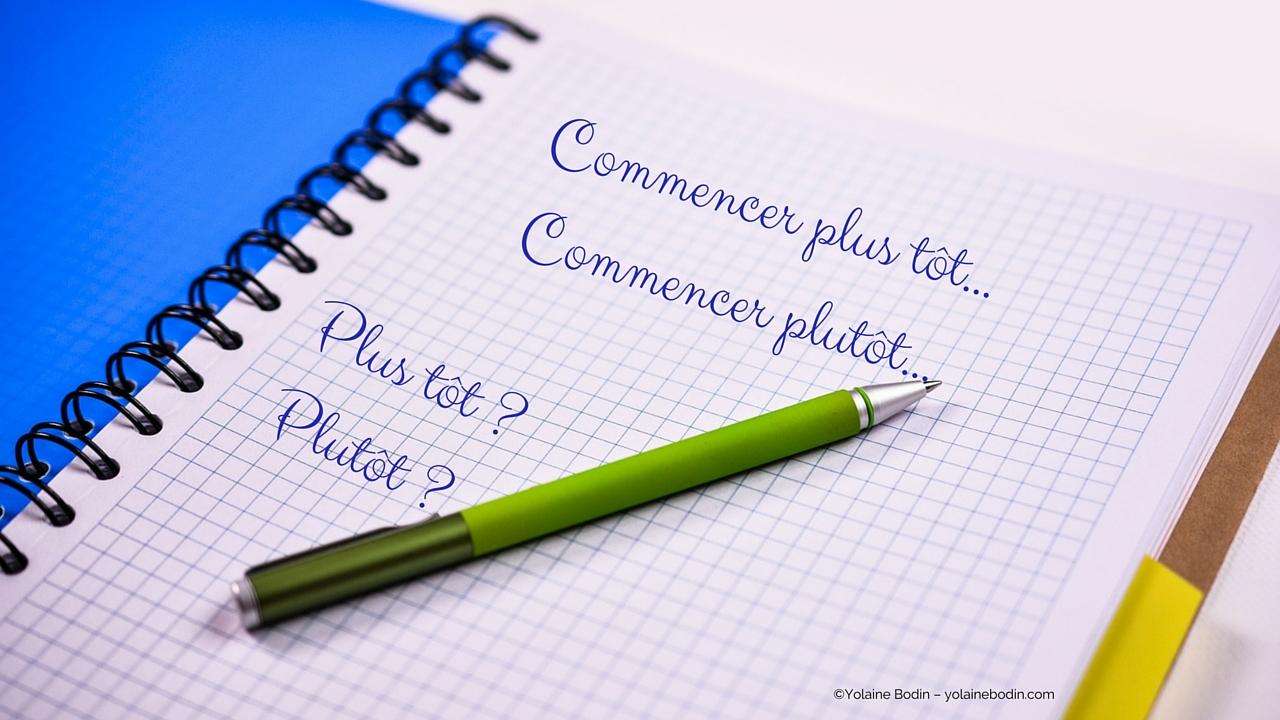 plutôt & plus tôt - question d'orthographe en français