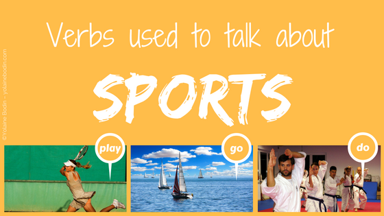 Play, go, do : sports verbs in English – Which one to choose?