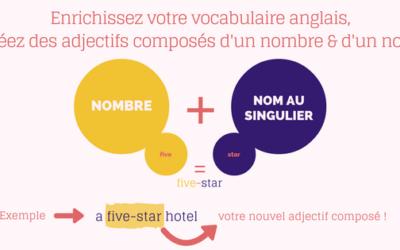 Enrichir son vocabulaire anglais : former un adjectif composé à partir d'un nombre et d'un nom