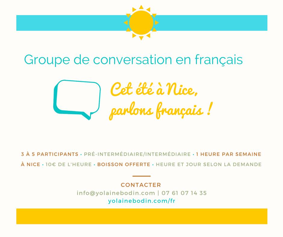 conversation en français