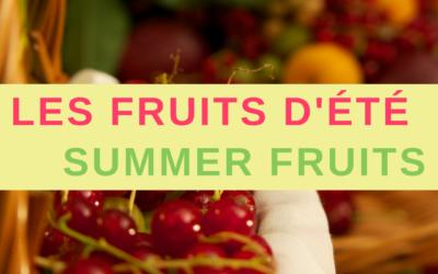 Les fruits d'été