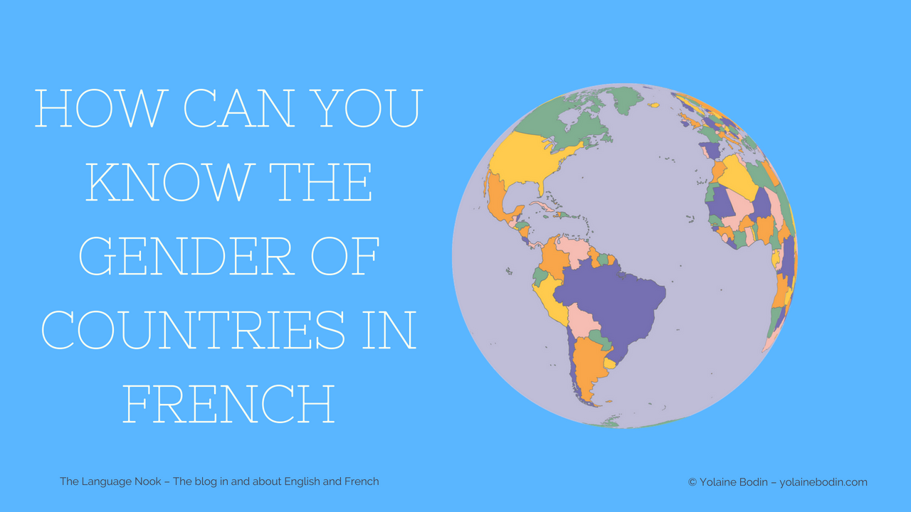 Country gender in French