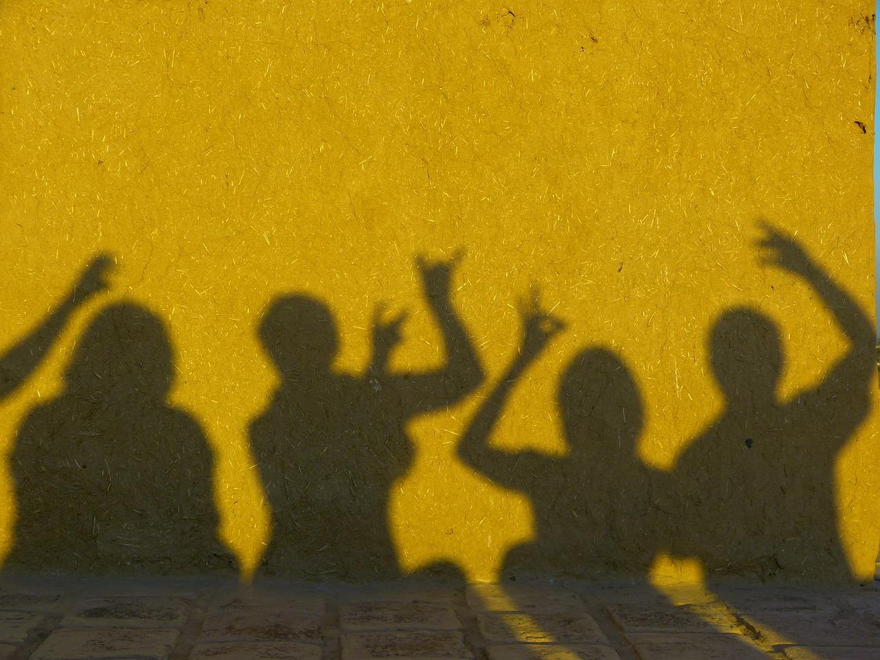 shadows (not shades)
