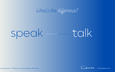 Speak or talk?  What's the difference?