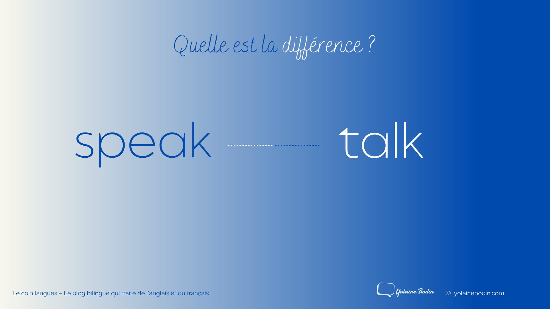 speak et talk - Illustration par Yolaine Bodin