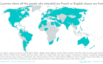 Perk #1 of teaching foreign languages: meeting people from all over the world!